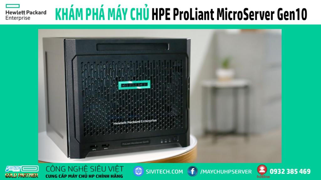 máy chủ hpe proliant microserver